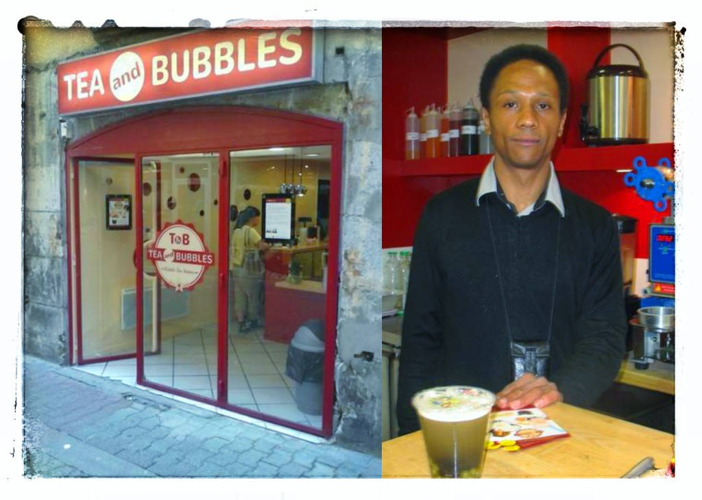 Nouveau et unique à Grenoble, la boutique Tea and Bubbles.