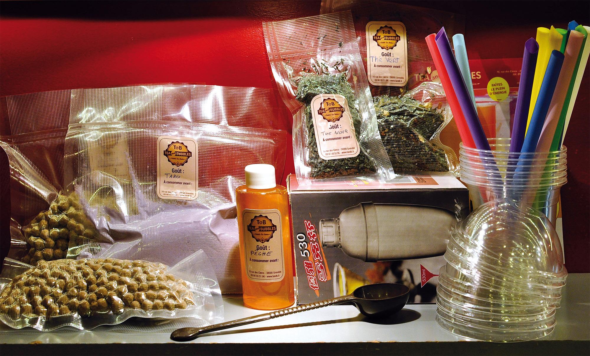 Kit Bubble-tea - Tea and Bubbles